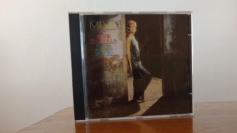 アルバム「ミルバ/エル・タンゴ~ミルバ・ウィズ・ピアソラ」(キングレコード)=筆者撮影