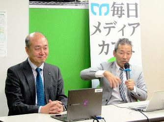 熊野古道:協働で守る 県とKDDI...