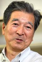 北朝鮮について語る伊藤亜人東京大名誉教授=東京都目黒区で2017年11月9日午後1時41分、藤井太郎撮影