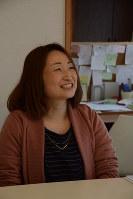 「みんなで施設を手作りしていきたい」と語る「With you」の湯本美香代表=藤岡市岡之郷で