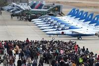 多くの人が訪れた岐阜基地の航空祭岐阜県各務原市で2017年11月19日、兵藤公治撮影
