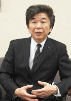 NTN大久保博司社長=大阪市西区の同社で、大道寺峰子撮影