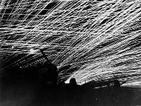 日本機に対するすさまじい対空砲火