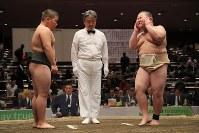 全日本小学生相撲優勝大会に臨む小学生力士たち=東京・両国国技館で2017年12月3日、後藤由耶撮影
