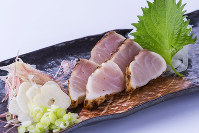 キャビアフィッシュのたたき=藤田水産提供