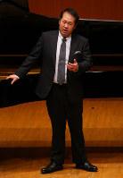 第71回全日本学生音楽コンクール全国大会の声楽部門大学の部で2位になった広田亮さん=横浜市西区のみなとみらいホールで、長谷川直亮撮影