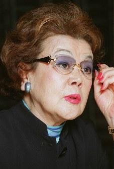野村沙知代さん 85歳=野村克也氏の妻、タレント(12月8日死去)