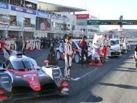 国内外のレースに参加したドライバーや車両が参加したTGRFの開会式