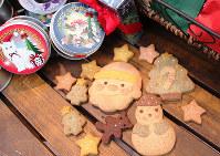 「アンディ」のクッキー(神戸市元町)=木田智佳子撮影