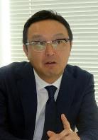 張江プロデューサー=川名壮志撮影