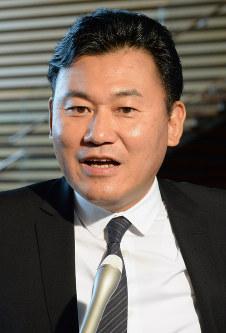 Rakuten Inc.'s President and CEO Hiroshi Mikitani (Mainichi)