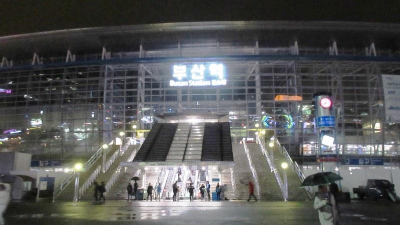 KTXの南の終点・釜山駅(写真は筆者撮影)