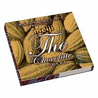2014年9月に発売された初代ザ・チョコレート「こく苦カカオ」。満を持して投入したが浸透しなかった=明治提供