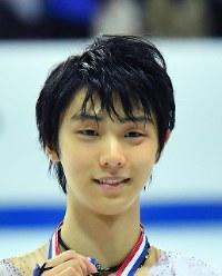 Figure skater Yuzuru Hanyu (Mainichi)