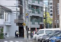 寺社や旅館が多い京橋町。西の京橋が架かり、東に広島駅を望む=広島市南区で2017年12月3日、山田尚弘撮影