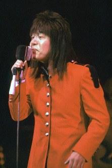 ミュージシャン・ムッシュかまやつさん=1981年撮影