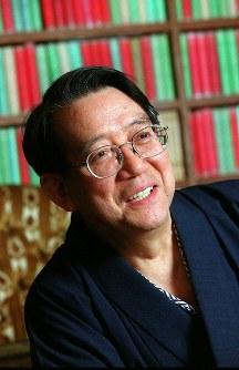 上智大名誉教授・渡部昇一さん=1999年、平野幸久撮影