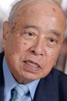 元沖縄県知事、元参院議員・大田昌秀さん=2007年撮影
