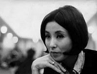 女優・野際陽子さん=1967年撮影