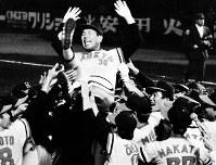 元プロ野球阪急監督・上田利治さん=1978年撮影