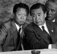 元首相・羽田孜さん=1993年撮影