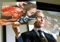 日本原水爆被害者協議会代表委員・谷口稜曄さん=2010年撮影