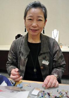 林裕子さん=富山市総曲輪3の富山大和で、青山郁子撮影