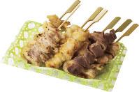 「タムラ料理長 特製焼き鳥の盛り合わせ」鳥麻、1100円(1日限定20食)