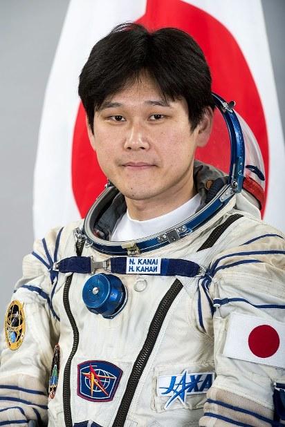 Astronaut Norishige Kanai (Mainichi)