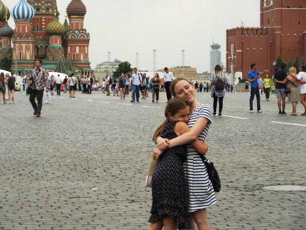 モスクワの赤の広場で(記事中の写真は藻谷浩介氏撮影)