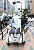 国土交通省もカーシェアリングを社会実験として実施している=東京都千代田区で2016年12月20日