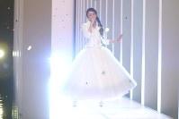 紅白歌合戦の安室奈美恵のリハーサル風景=NHK提供