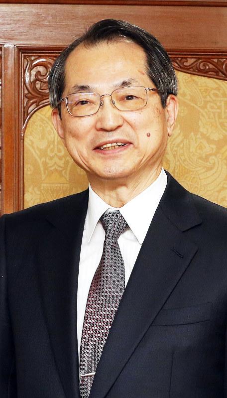 大谷直人さん=第19代最高裁長官に就任した