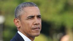 現職米大統領として初めて広島を訪れ演説したオバマ米大統領=広島市中区の平和記念公園で2016年5月27日(代表撮影)