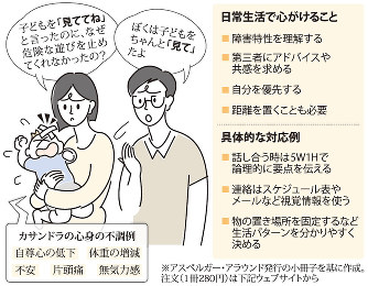 くらしナビ・ライフスタイル:配偶者に発達障害 関係苦しむ ...