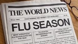 「FLU」は口語でインフルエンザを表す言葉
