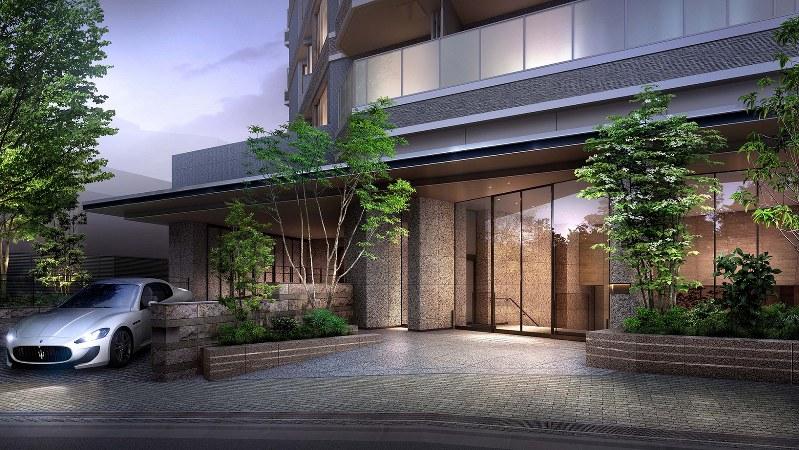 「ザ・パークハウス恵比寿南」の外観