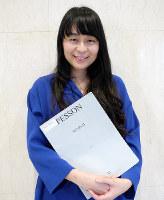 ピアノの前田裕佳=大阪市北区で、田中博子撮影