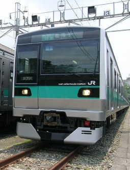 A JR Joban Line train is seen in this file photo taken in May 2009. (Mainichi)