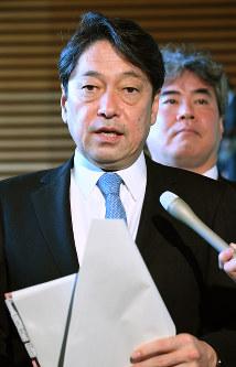 Defense Minister Itsunori Onodera (Mainichi)