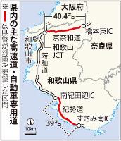 県内の主な高速道・自動車専用道