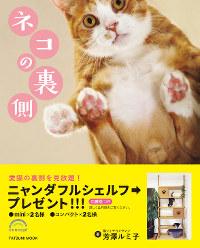 写真集「ネコの裏側」=辰巳出版提供