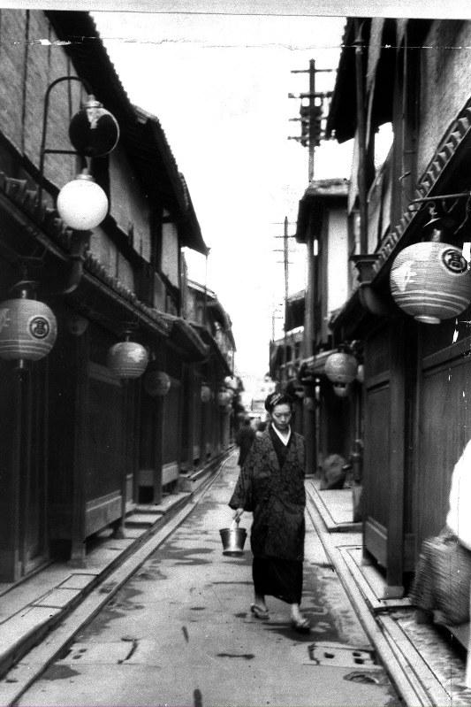京都・先斗町=1953年
