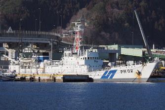 海保:津波から脱出した巡視船き...