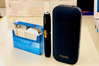 米フィリップモリスが販売する加熱式たばこ「iQOS(アイコス)」