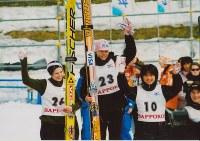 小学6年で当時最高峰のコンチネンタル杯で3位になった伊藤有希=土屋ホーム提供