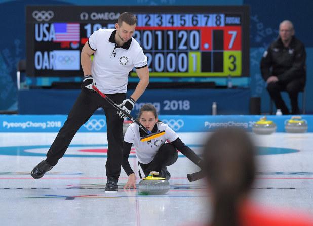 2018年平昌オリンピックのカーリング競技