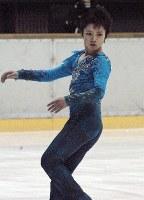 中部日本選手権で優勝したジュニア男子の宇野昌磨=名古屋市南区で2014年2月9日、黒尾透撮影