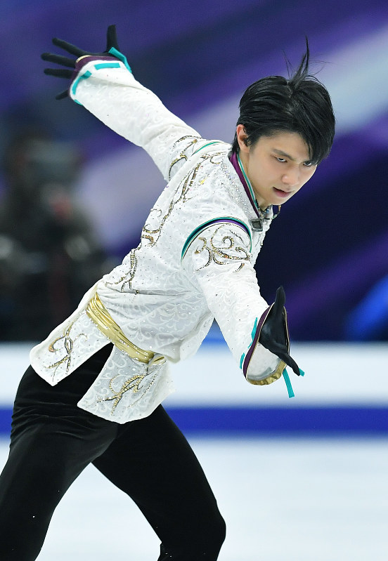 World awaits figure skater Hanyu's dramatic return to ice at