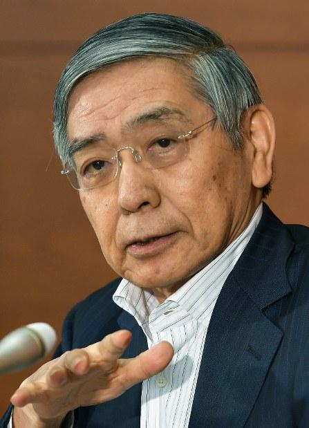 Bank of Japan Gov. Haruhiko Kuroda (Mainichi)